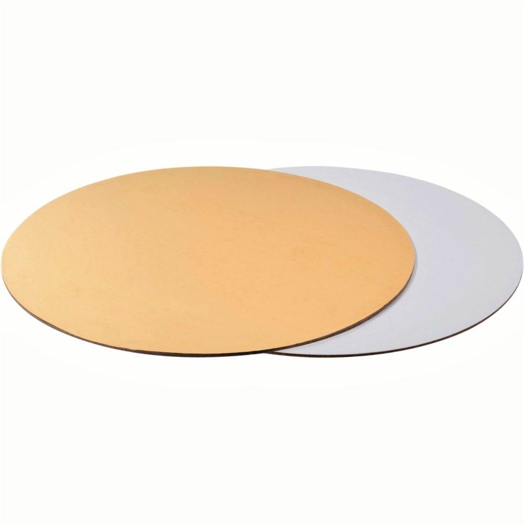 Подложки для тортов двусторонние, круглые 1,5мм