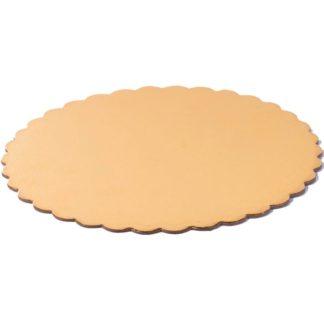 Подложки для тортов двусторонние с фигурными краями 0,9мм