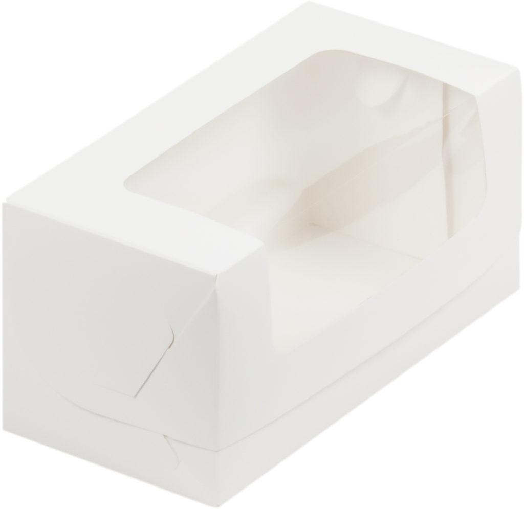 Коробка для кекса 200х100х100 БЕЛЫЙ