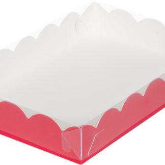 Коробка для печенья и пряников,  220х150х35 КРАСНАЯ