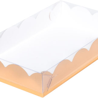 Коробка для печенья и пряников,  220х150х35 ЗОЛОТО