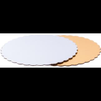 Подложки для тортов двусторонние с фигурными краями 1,5мм