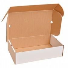 Беленый обувной короб №78, 500*300*130 мм