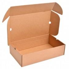 Бурая обувная коробка №76, 500*300*130 мм
