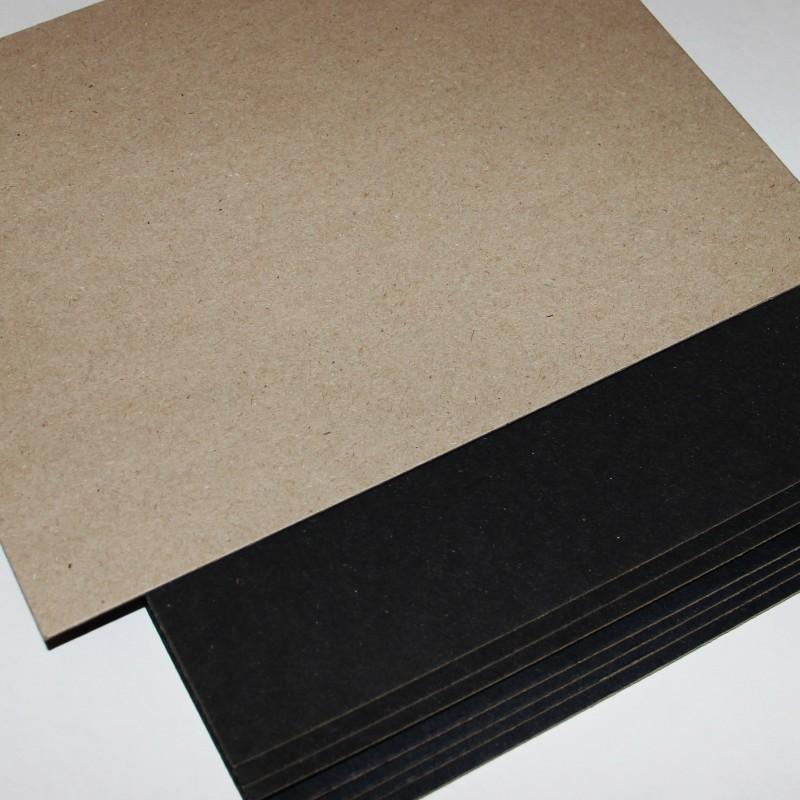 Переплетный картон Сураж черный