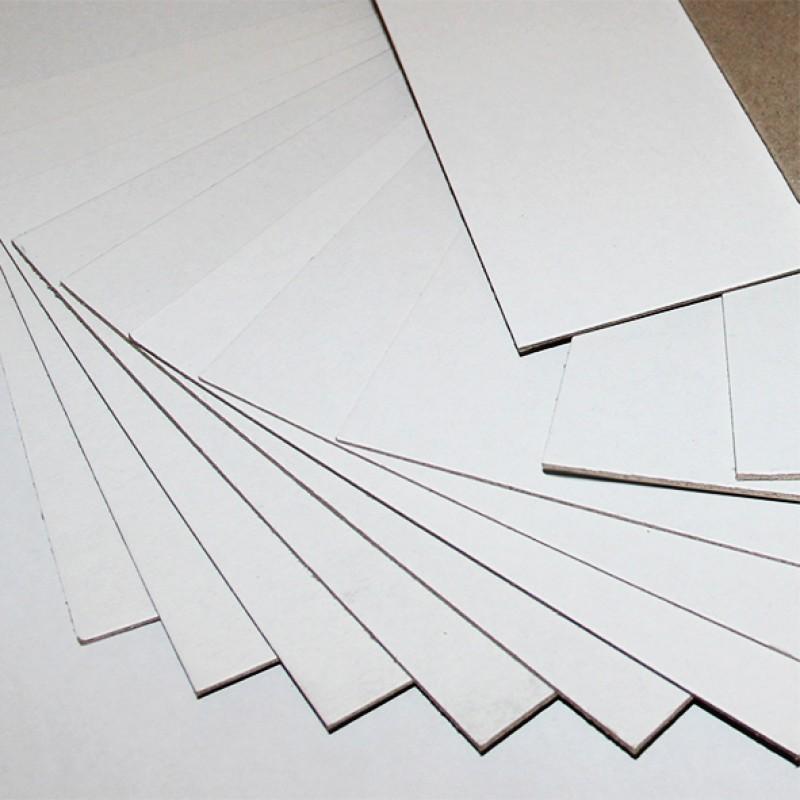 Переплетный картон Сураж белый