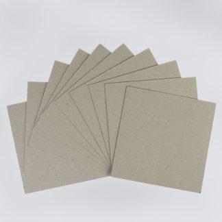 Переплетный картон Сураж серый