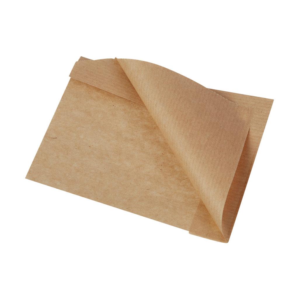 УГОЛОК БУМАЖНЫЙ СО СКЛАДКОЙ SANDWICH BAG M БУН (ПОЛОСА) 140х30х145 мм