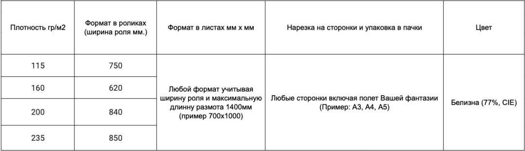 Бумага для высоких изданий (ВХИ)